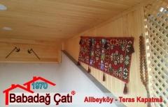 Alibeyköy Teras Kapatma