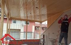 Altıntepsi Balkon Pergole Yapımı